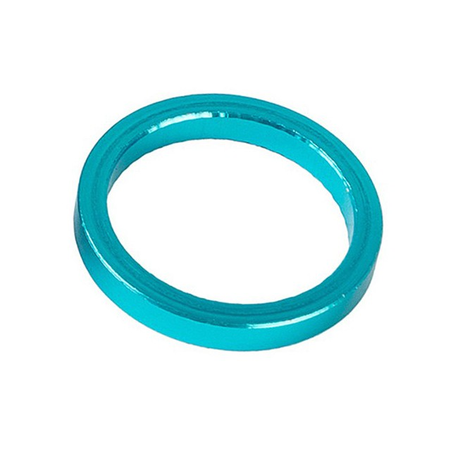 Podkładka dystansowa ACCENT sterów aluminiowa 5mm niebieska
