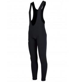 Spodnie z szelkami długie ROGELLI TAVON + wkładka ocieplane czarne M