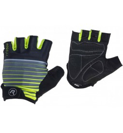 Rękawiczki ROGELLI HERO kr. czarno-fluor L