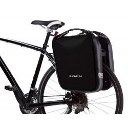 Sakwa na bagażnik CROSSO DRY BIG 60L - click system - czarna