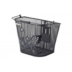 Koszyk na kierownicę BASIL BASIMPLY EC FLOWER ALL BasEasy stalowy czarny
