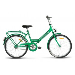 Rower turystyczny 24 KANDS LAGUNA FOLDING Favorit zielony 17r