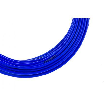 Pancerz przerzutkowy ACCENT 4mm x 3m niebieski fluo