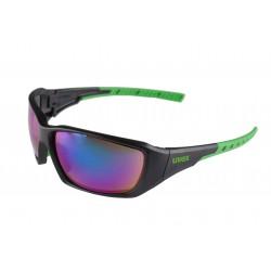 Okulary UVEX Sportstyle 219 - czarno-zielone