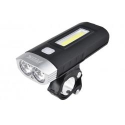 Lampa przednia PROX TAURUS 2xCREE 500lum akumulator
