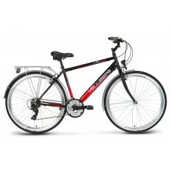 Rower 28 VELLBERG trekk. TRIP M  TX/Stef czarno-czerwony 19