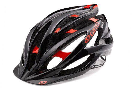 Kask GIRO Fathom Bright Red - Black 55-59 2017