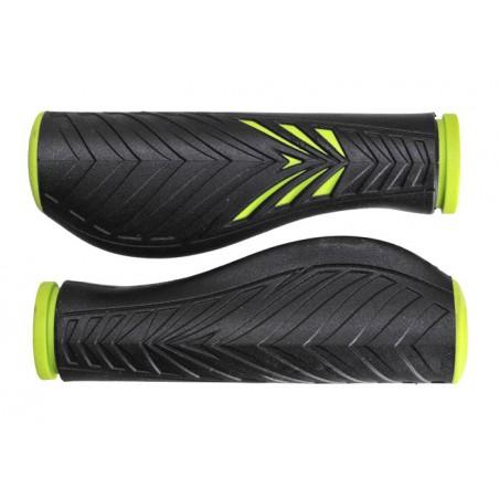 Chwyty VELO PRO-X 1133 Comfort GEL 130mm zielono-czarne