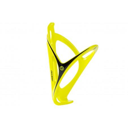 Koszyk bidonu ACCENT Smart żółto fluorescencyjny czarny