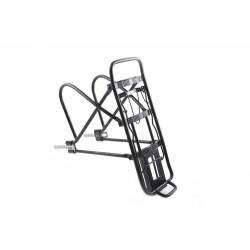 Bagażnik 24-26-28 HYJ-D10 regulowany aluminiowy czarny