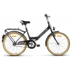 Rower miejski 24 KANDS LAGUNA FOLDING składak Favorit czarny