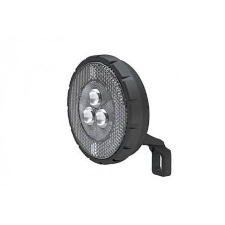 Lampa przednia /bateryjna/ XC-159 do widelca CZARNA