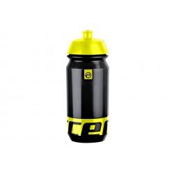 Bidon rowerowy ACCENT PEAK 0,5L czarno-żółty fluorescencyjny