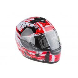Kask motocyklowy AWINA TN-0700B-B2 biało-czerwony XL