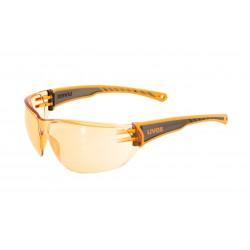 Okulary rowerowe UVEX Sportstyle 204 - pomarańczowe