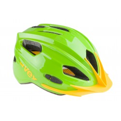 Kask rowerowy dziecięcy UVEX Quatro junior S 50-55cm zielony