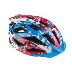 Kask rowerowy UVEX AIR WING M 52-57 cm biało-czerwony