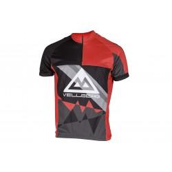 Koszulka rowerowa VELLBERG XL krótki rękaw czerwona