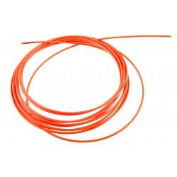 Pancerz przerzutkowy ACCENT 4mm x 3m pomarańczowy fluo