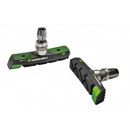 Klocki hamulca Merida GREEN V-BRAKE czarno-zielone