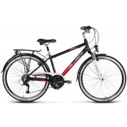 Rower 28 VELLBERG trekkingowy DISCOVER 1.1 Męski Acera czarno-czerwony 17