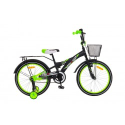 Rower 20 MEXLLER BMX czarno-zielony