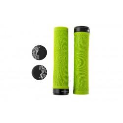 Chwyty kierownicy DARTMOOR MAZE 137 mm zielone