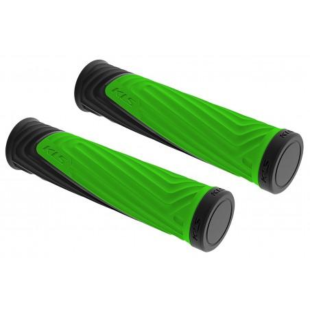 Chwyty KELLYS ADVANCER 130 mm toxic green