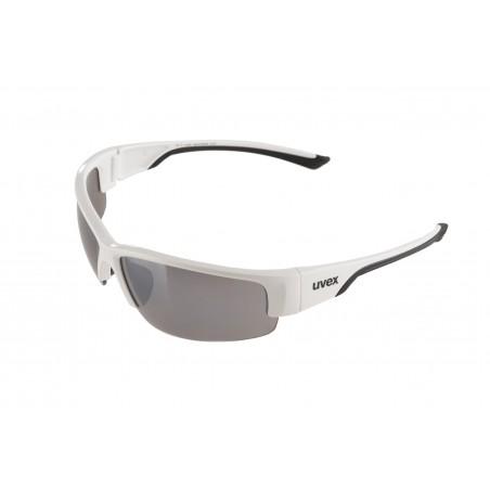 Okulary UVEX Sportstyle 215 biało-czarne