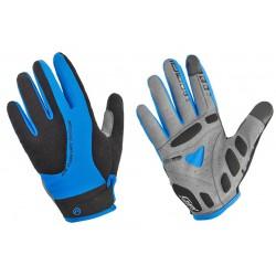 Rękawiczki ACCENT CHAMPION czarno-niebieskie rozmiar M z długimi palcami