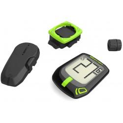 Licznik TOP ACTION T10 bezprzewodowy czarno-zielony