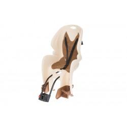 Fotelik dla dziecka CLASSIC pod siodło rura o średnicy 26-33mm  beżowy