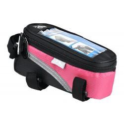 Sakwa na ramę na smartfona M-Wave różowa