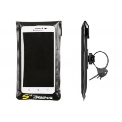Sakwa na kierownicę Sport Arsenal 532 /wodoszczelne/ na smartfona 5,5-6,5 czarna