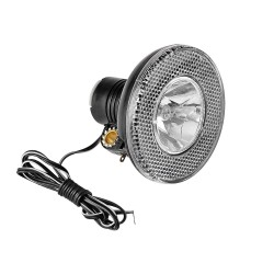 Lampa przednia dynamo halogenowa na dynamo z wyłącznikiem żarówka 102