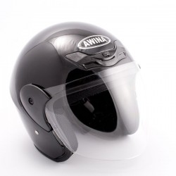 Kask moto. AWINA TN-8661 /otwarty/ czarny XL