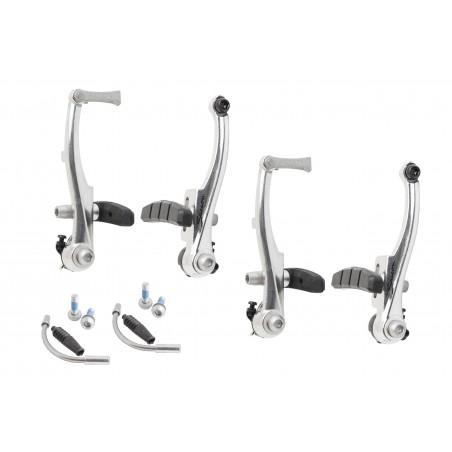 Hamulec V-brake MTB AL SACCON 110 srebrne