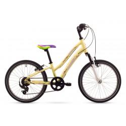 Rower ROMET 20 CINDY kremowy
