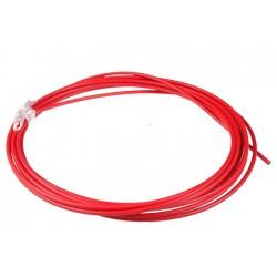 Pancerz hamulcowy SACCON W107 czerwony 5m