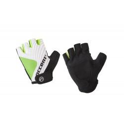 Rękawiczki ACCENT SIROCCO biało-zielone L
