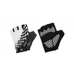 Rękawiczki ACCENT dziecięce Tommy  biało/czarne L/XL