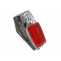 Lampa tylna na błotnik 1-led + baterie