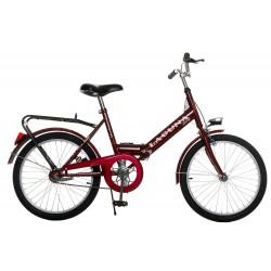 Rower turyst. 20 LAGUNA składak p. FAV. czerwony