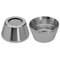 Nakładka na stery kierownicy NECO 1 1/8''  H-131 alum. srebrna