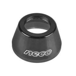 Nakładka na stery NECO 1 1/8  H-131 ALU czarna