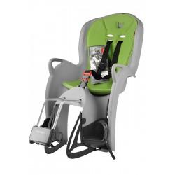 Fotelik rowerowy HAMAX KISS do ramy 2017 szaro-zielony