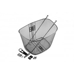Koszyk na kierownicę siatka ze wspor. PBK-102   35x25x26