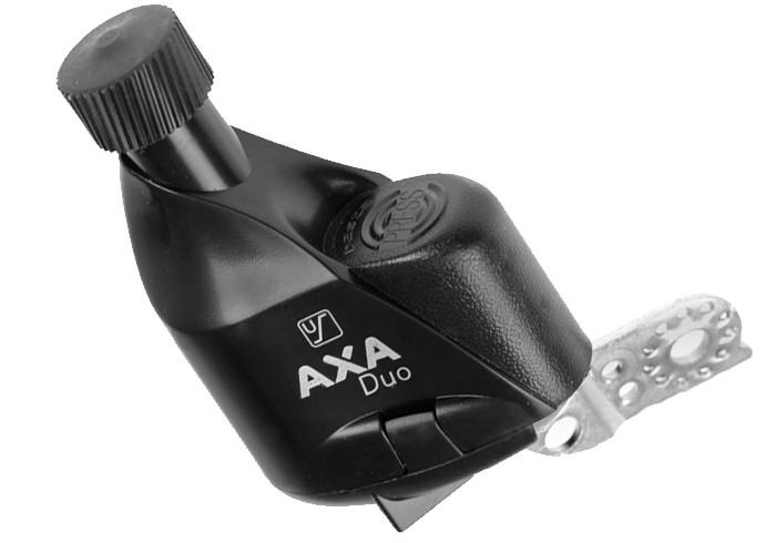 Prądnica rowerowa lewa AXA/Basta DUO (4styki) plastikowa