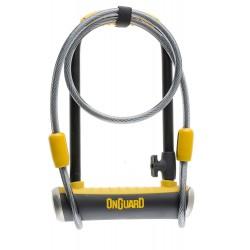 Zamknięcie ONGUARD PitBull DT 8005 U-LOCK - 14mm 115mm 230mm - 5 x Klucze z kodem + linka 10mm 120cm