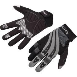 Rękawiczki DARTMOOR SNAKE grafitowo-czarne L z długimi palcami